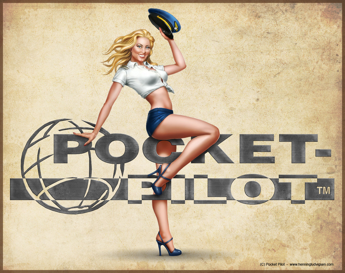 Drawn pin up  battlestations midway Henning by on pilot by