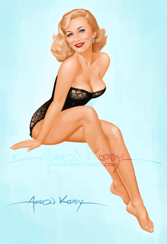 Drawn pin up  bedroom Diane on by DeviantArt AtomicKirby