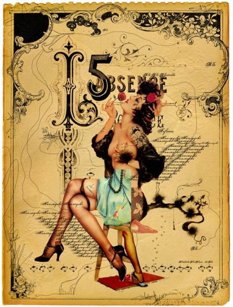 Drawn pin up  burlesque Handiedan by found Pin http://inkbutter
