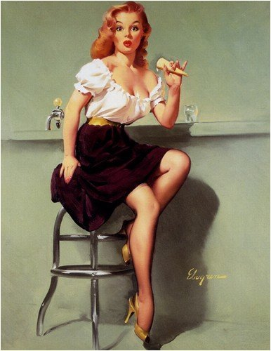 Drawn pin up  classic Of Pin up love ups: