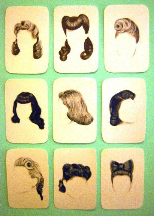 Drawn pin up  classy Best pin Hairstyles up to