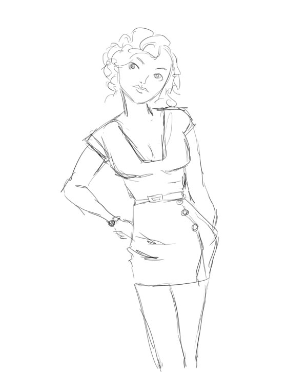 Drawn pin up  classy Alex Draw and Facebook Doodle