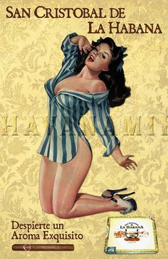 Drawn pin up  cuba Pinup Pinup by Art Miller