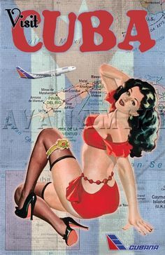 Drawn pin up  cuba Cuba on 83 Pinterest revolution
