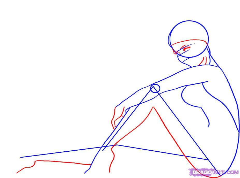 Drawn pin up  dragoart Native pinup American draw Girl