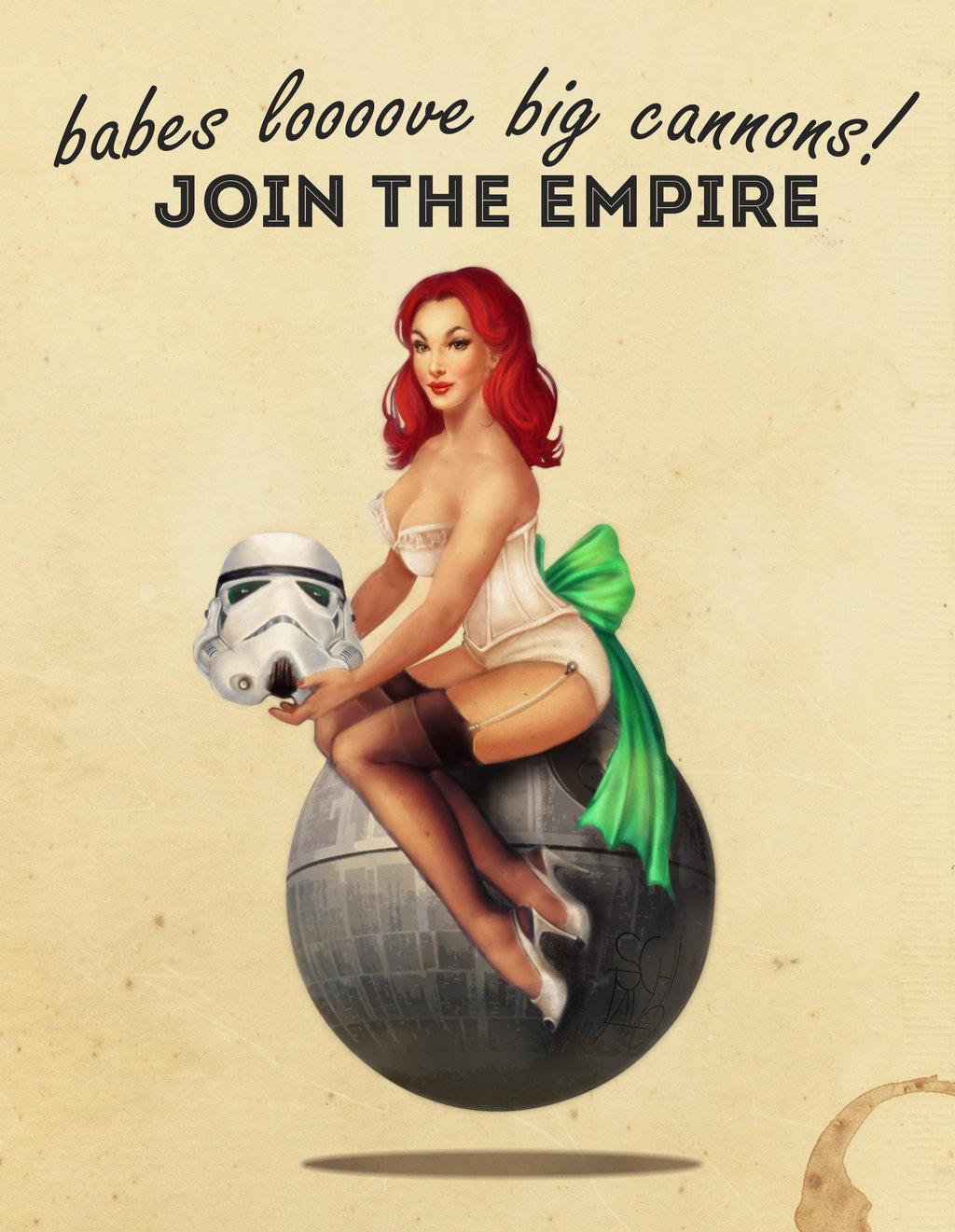 Drawn pin up  poster @deviantART Star Cahlline Cahlline star
