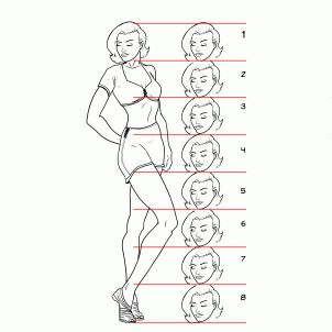 Drawn pin up  standing Draw 32 ups images Art