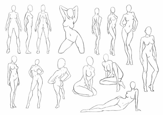Drawn pin up  standing Pinterest Drawing up and Poses