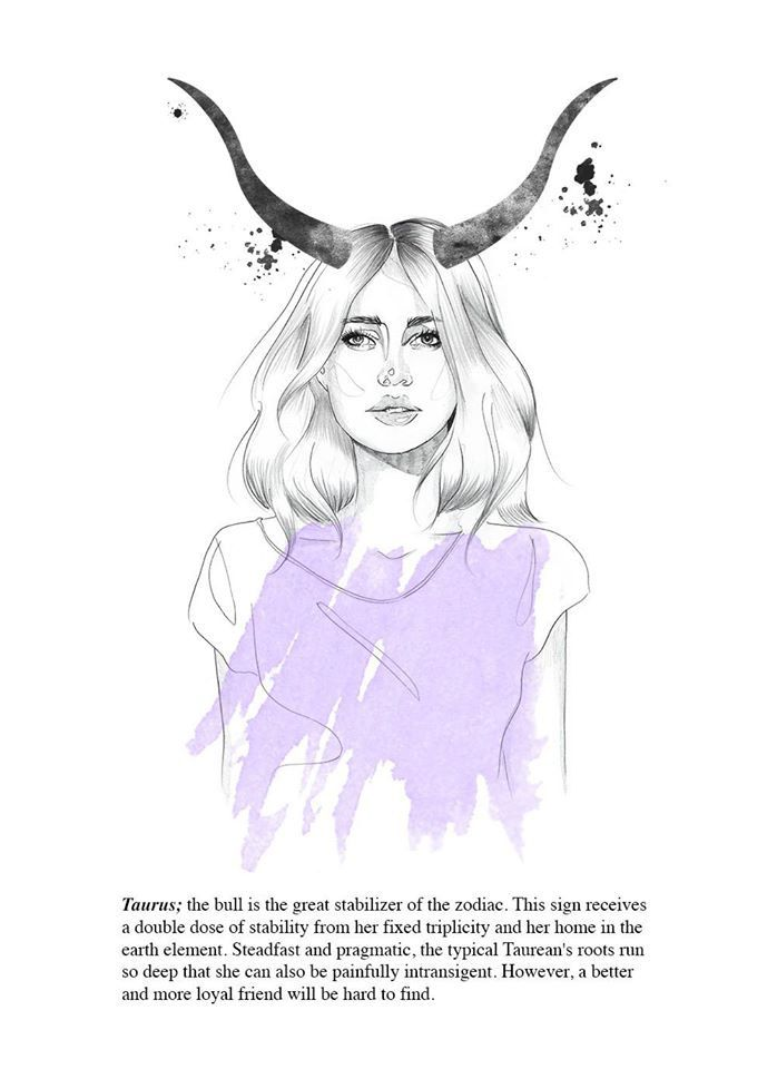 Drawn pin up  taurus A images Pinterest about more
