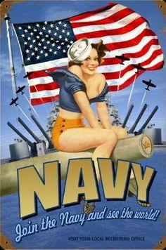 Drawn pin up  us navy 7fd9ef270657463c7a4d550b9edb7dda United Navy States :