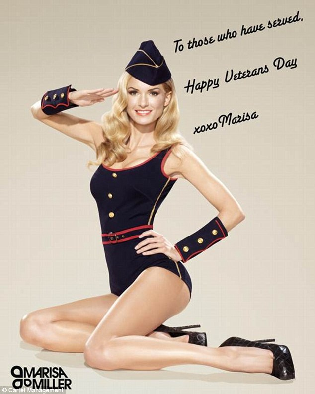 Drawn pin up  uso Girl: Secret troops poster pays