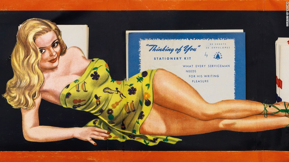Drawn pin up  world war 2 During American part images of