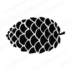 Pine Cone clipart black and white Logo # Pine Pinterest plants