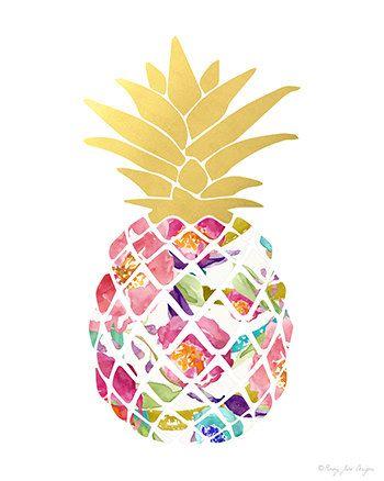 Drawn pineapple In illustration ideas The Decor