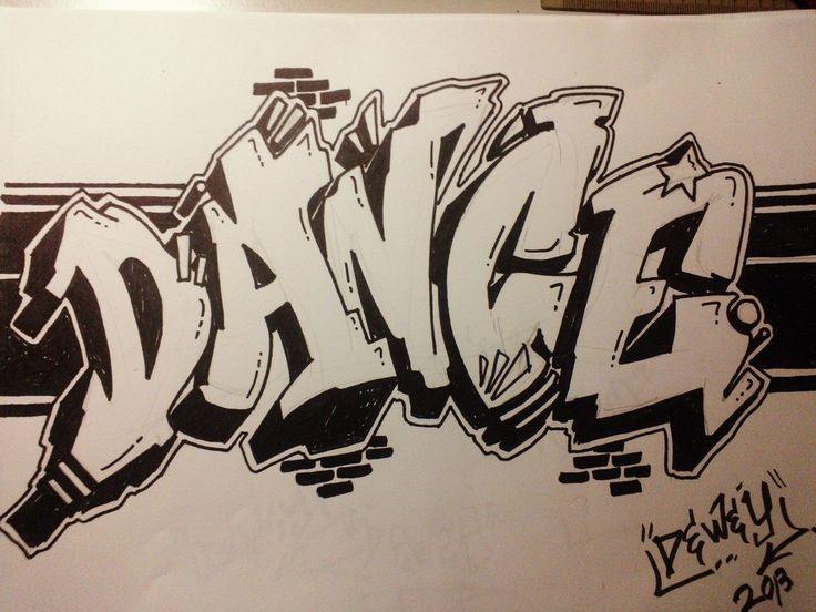 Drawn scenic graffiti Writing ideas Graffiti on Bedroom