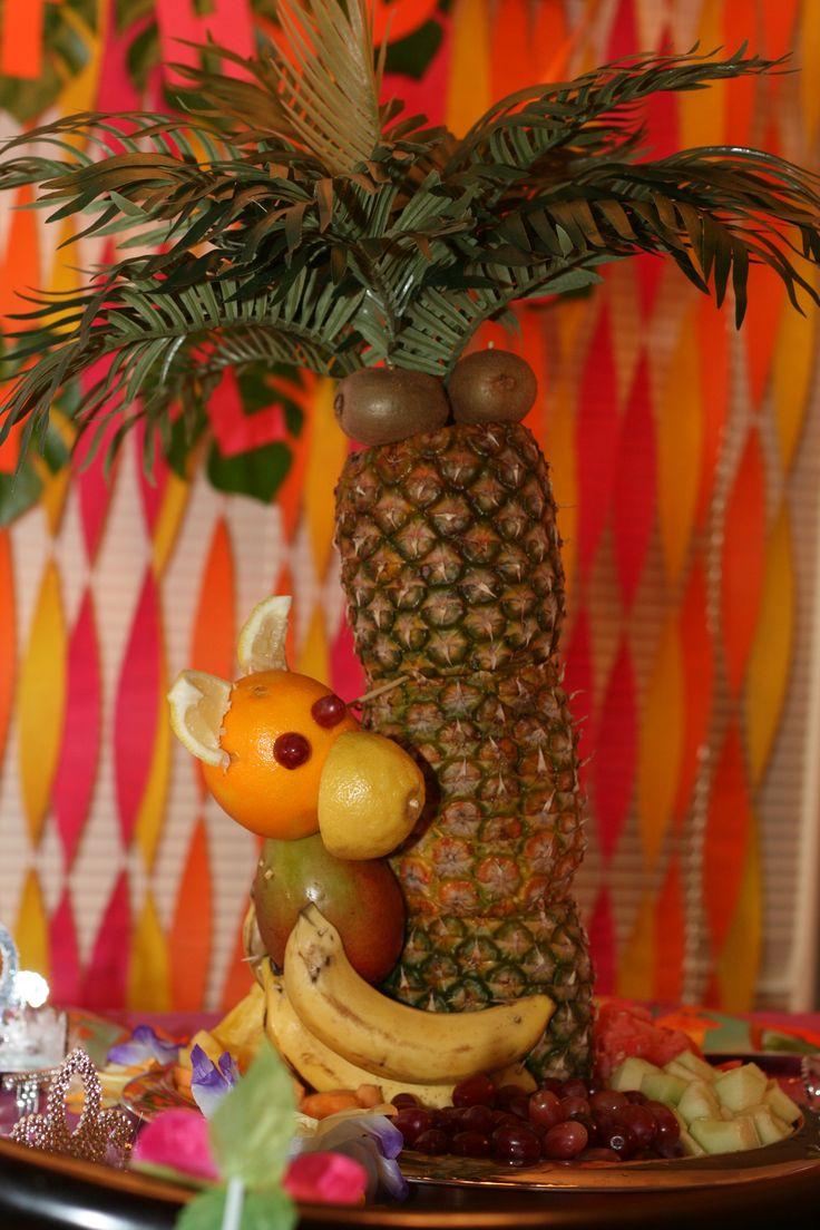 Drawn pineapple Fruit Pineapple Hawaiian Pinterest Party