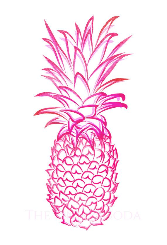 Blur clipart pineapple Pinterest on thepinkpagoda IPAD on