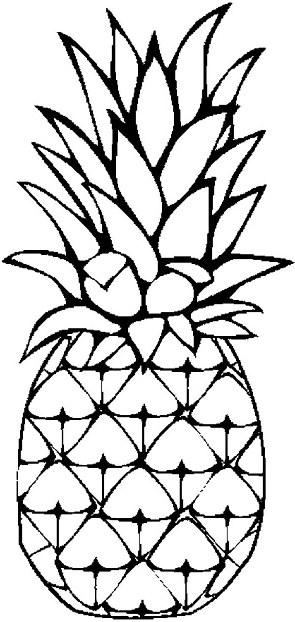 Color clipart pineapple 600 Page x Pixel 1262