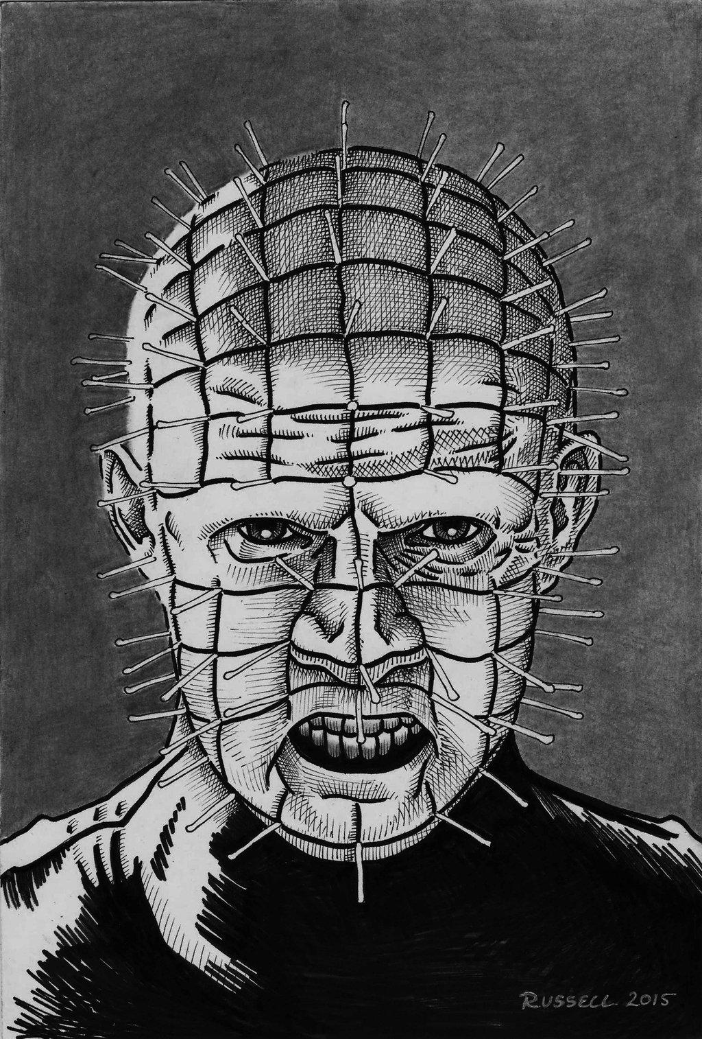 Drawn pinhead Bungle0 DeviantArt by Bungle0 Pinhead