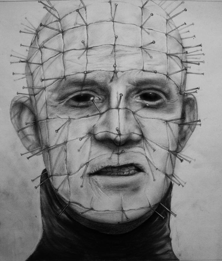 Drawn pinhead By porge7 on Zamarea by