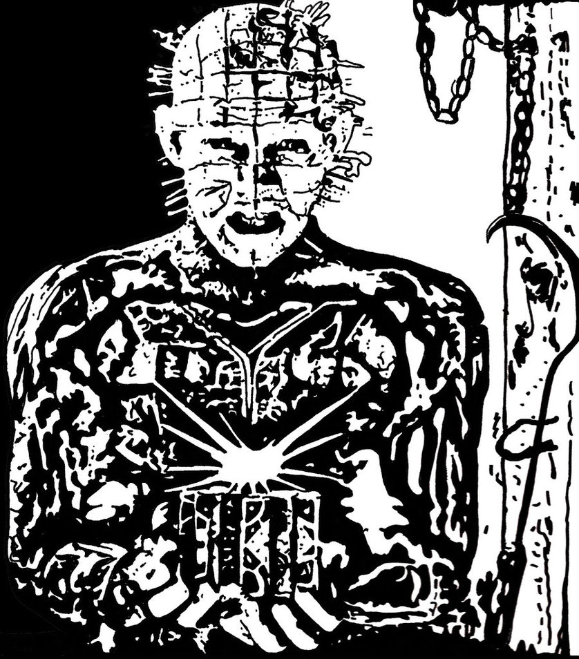 Drawn pinhead On Pinhead Two by DeviantArt