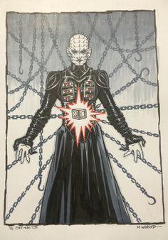Drawn pinhead bulletin By Hellbound Comic Hellraiser Matt
