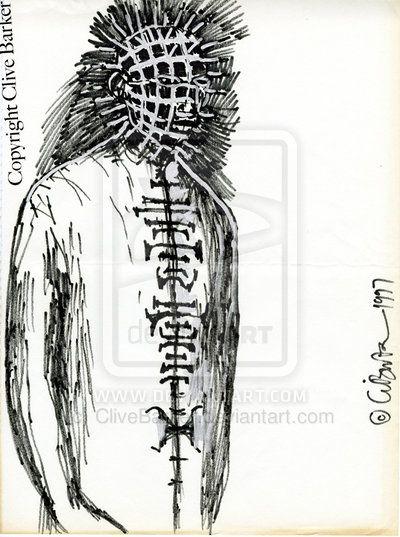 Drawn pinhead bulletin By of com CliveBarker 2