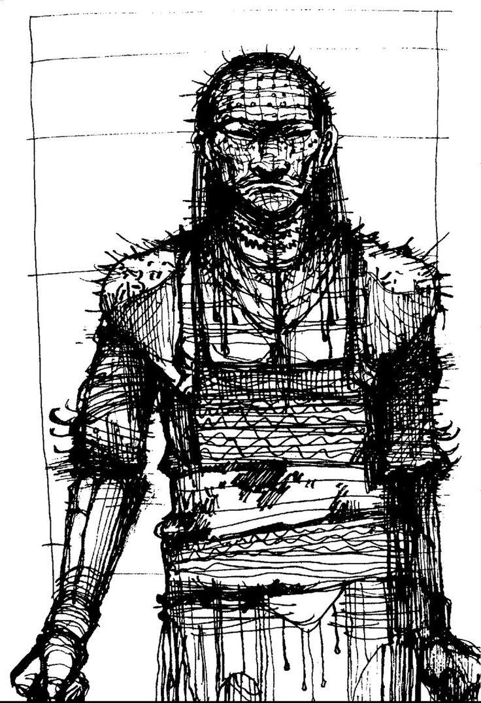 Drawn pinhead bulletin Deviantart Gash) @DeviantArt CliveBarker com