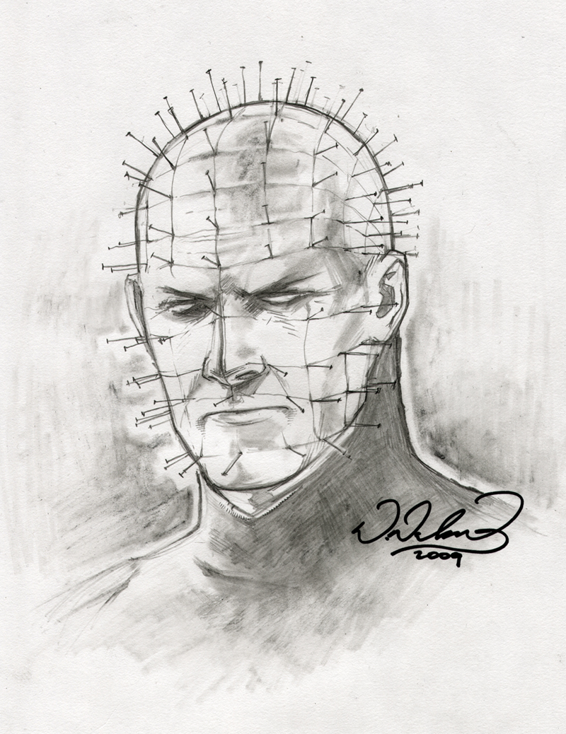 Drawn pinhead dropped On FlowComa by by FlowComa