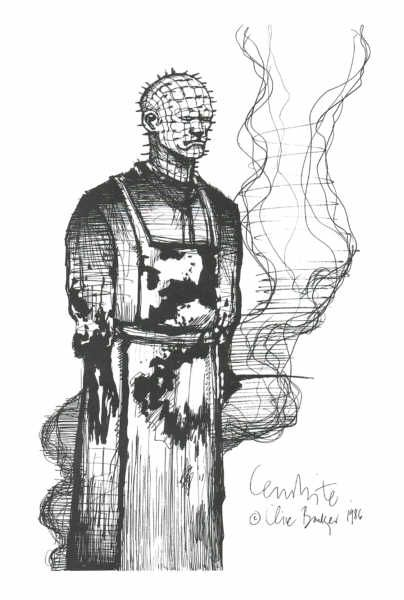 Drawn pinhead dropped On 244 Pinhead concept art