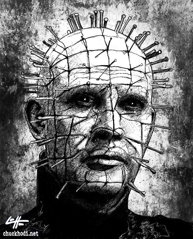Drawn pinhead dropped Images Pinterest by Dark Hellraiser