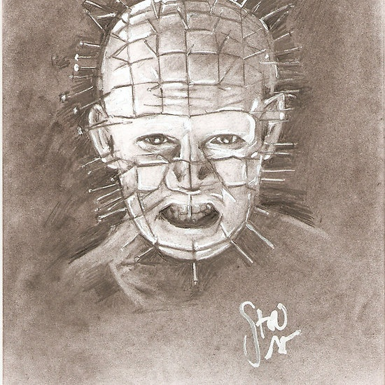 Drawn pinhead dropped 100 images the you Hellraiser