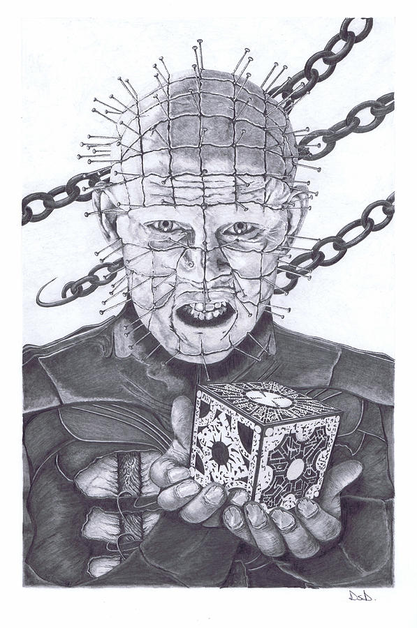 Drawn pinhead hellraiser That Mingle2 art this of