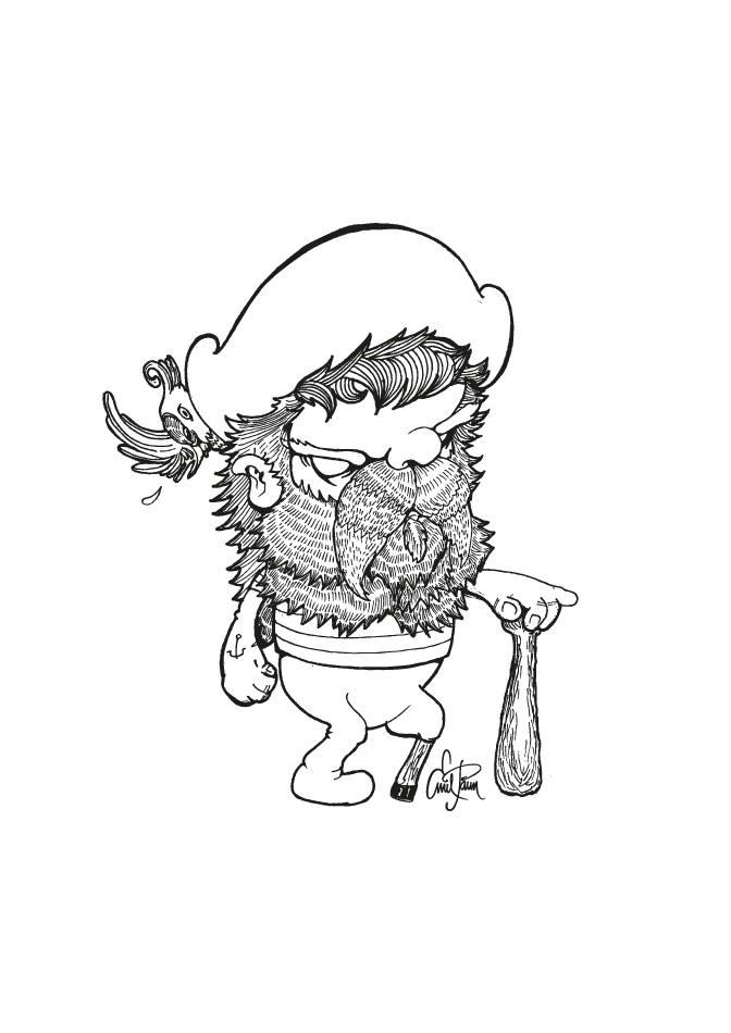 Drawn pirate Illustration Hertfordshire Emil based Hand