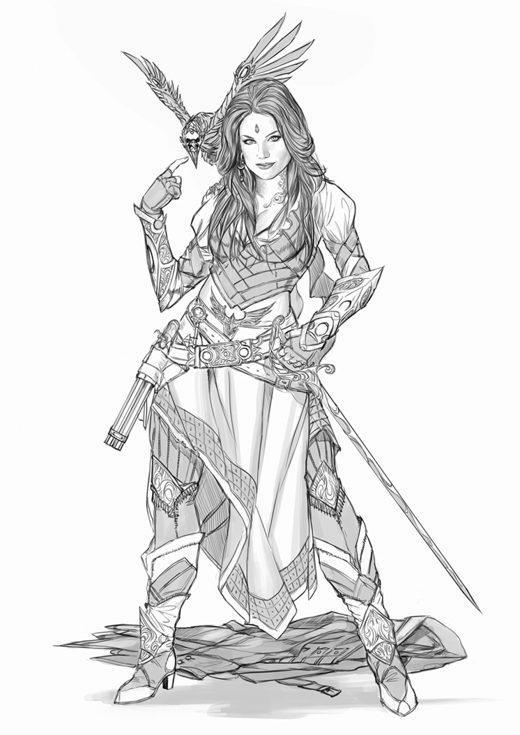 Drawn pirate armored Own armor YamaOrce Design your