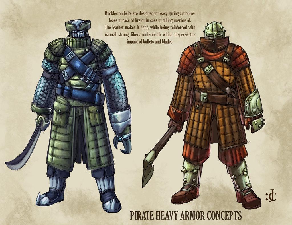 Drawn pirate armored Onikaizer Heavy Armor Dynasty III