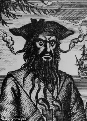 Drawn pirate beard Captain used Edward stuffed With