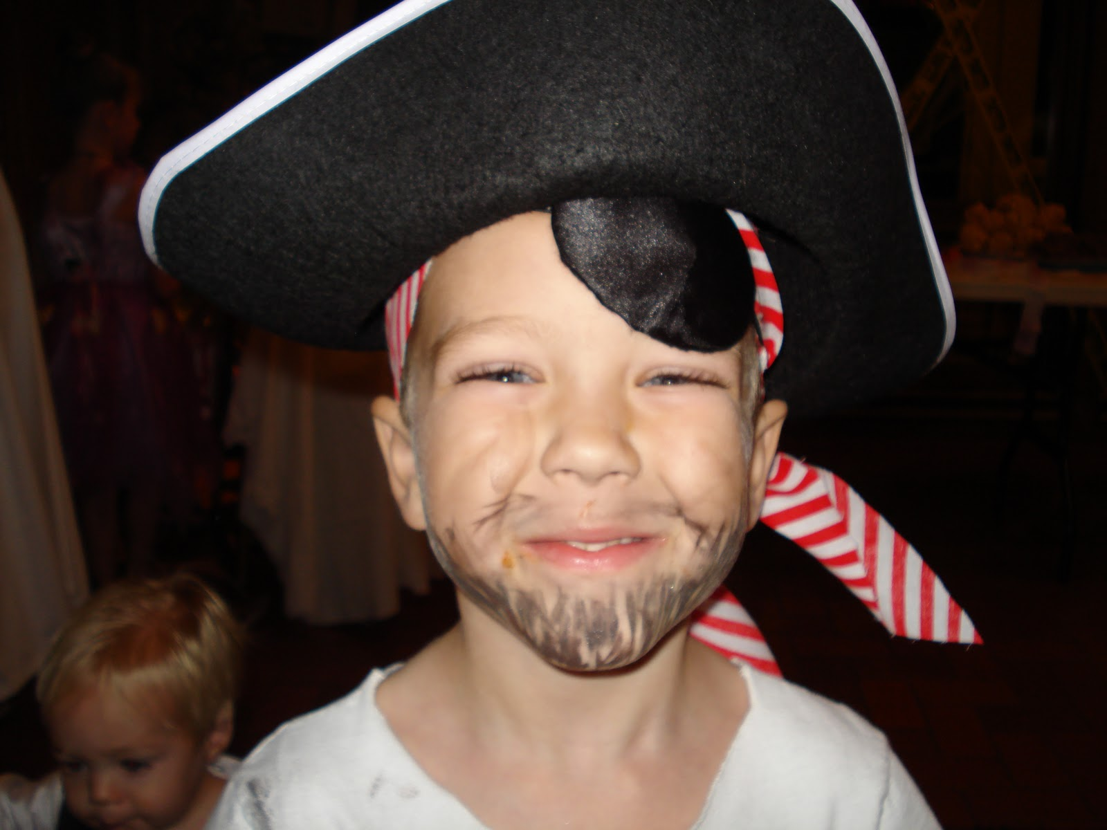 Drawn pirate beard Of Daisies Minute  Costumes