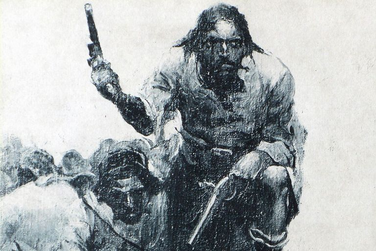 Drawn pirate blackbeard Pirate Blackbeard Facts 10 the