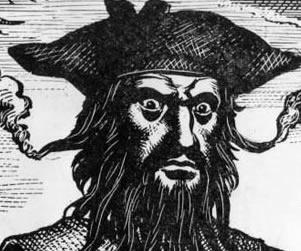 Drawn pirate blackbeard Blackbeard for Biography « Blackbeard