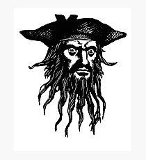 Drawn pirate blackbeard Photographic Blackbeard Photographic Pirate Drawing: