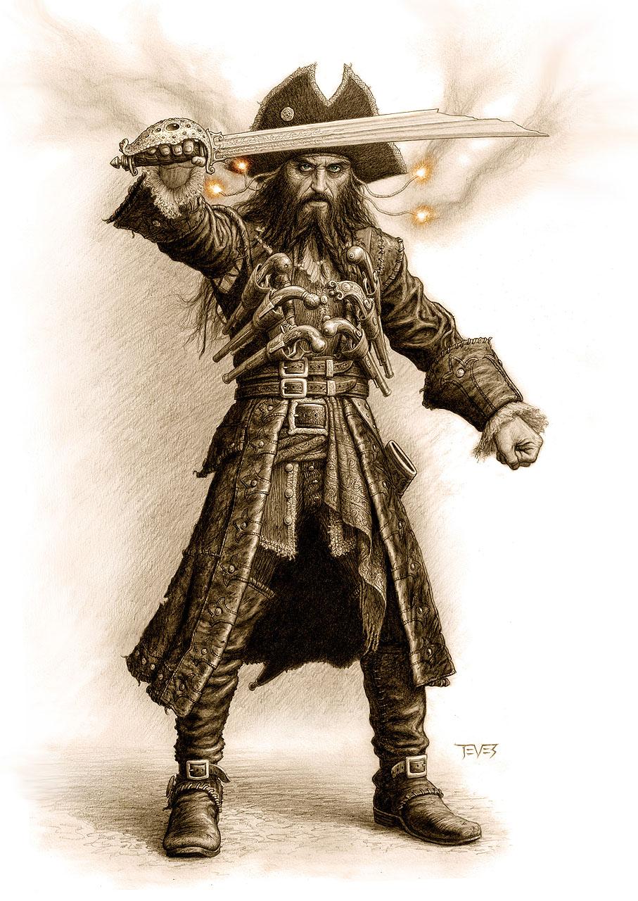 Drawn pirate blackbeard Encyclopedia Blackbeard Alchetron Vane Social