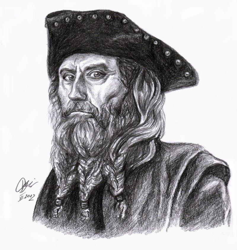 Drawn pirate blackbeard On Explore by DrCrafty DeviantArt