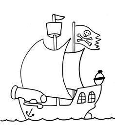 Drawn pirate cartoon Kids! Pirate Pages <b>Pirate</b> Color