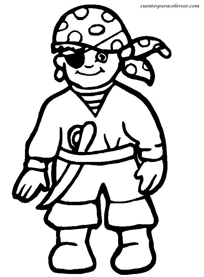 Drawn pirate cartoon Dibujos Ship para best animados