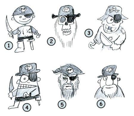 Drawn pirate cartoon 39 to best Art Pinterest