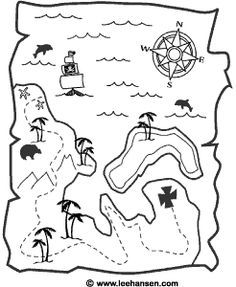 Drawn pirate child Templates free Map twine great