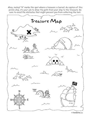 Drawn pirate child Pinterest on Pin Treasure and