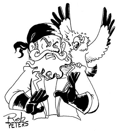 Drawn pirate classic Pirate shoulder last of Pirate