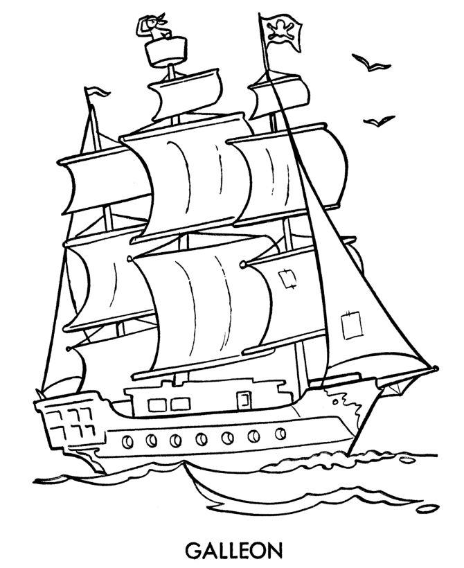 Drawn ship cartoon For ship Pirate drawing cartoon